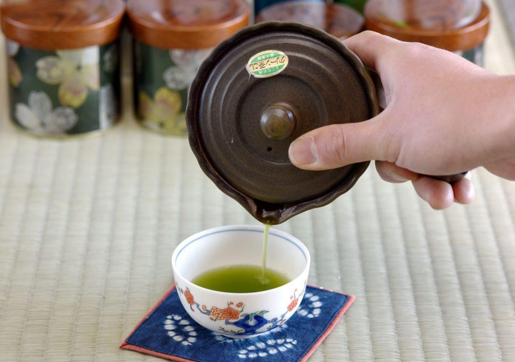 風味豊かな玉露粉茶